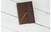 Leather Rustic Journal - Rustic Brown Leather by Blue Sky Papers