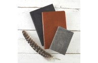 Soft Leather Journals - soft bound leather journals in many colors - handmade by Blue Sky Papers