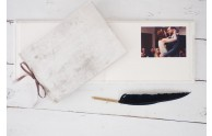 Velvet Artisan Album- Perfect as a photo album or guest book- by Blue Sky Papers