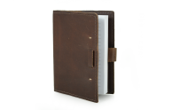 Rustic Leather Refillable Writing Journal - The Wasatch