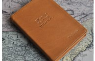 Personalized Leather World Travel Journal- from Blue Sky Papers