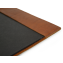 Rustic Leather Binder Cover - Saddle - Interior - Blue Sky Papers