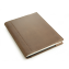 Rustic Leather Sketchbook - Dark Brown Leather