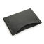 Rustic Credit Card Sleeve - Black