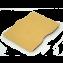 Rustic Hand Sewn iPad Sleeve - Buckskin