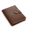 Rustic Leather Brag Book - Burgundy