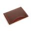 Rustic Credit Card Sleeve - Burgundy