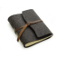 "Rustic Wool Writing Journal - ""The Parley"" - Leather Wrap Closure"