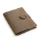 Rustic Leather Brag Book - Dark Brown