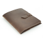 Rustic Leather iPad Case - Dark Brown