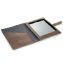 Rustic Leather iPad Case - Interior View