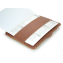 Rustic Leather iPad Portfolio - Hand Sewn - slot for composition book