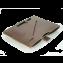 Rustic Leather iPad Portfolio - Machine Sewn - Dark Brown