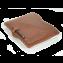 Rustic Leather iPad Portfolio - Hand Sewn - Saddle