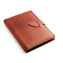 Rustic Leather Brag Book - Saddle