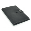 Rustic Leather Pad Portfolio - Black Leather - Small