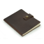 "Rustic Leather Notebook - ""The Ranger"" - Dark Brown"