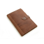 Rustic Leather Pad Portfolio - Saddle Leather - Small
