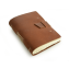 "Rustic Writing Journal - ""The Good Book"" - Saddle - Buckle"