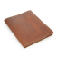 Rustic Composition Book Cover - Hand Sewn - Saddle Leather