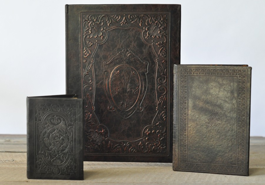 Old Leather Journal With Key Vintage Leather Journals