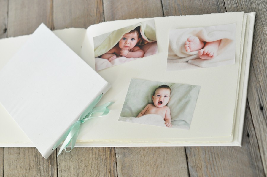 The Artisan Album - Handmade Baby Album, Sophisticated and Sweet ...
