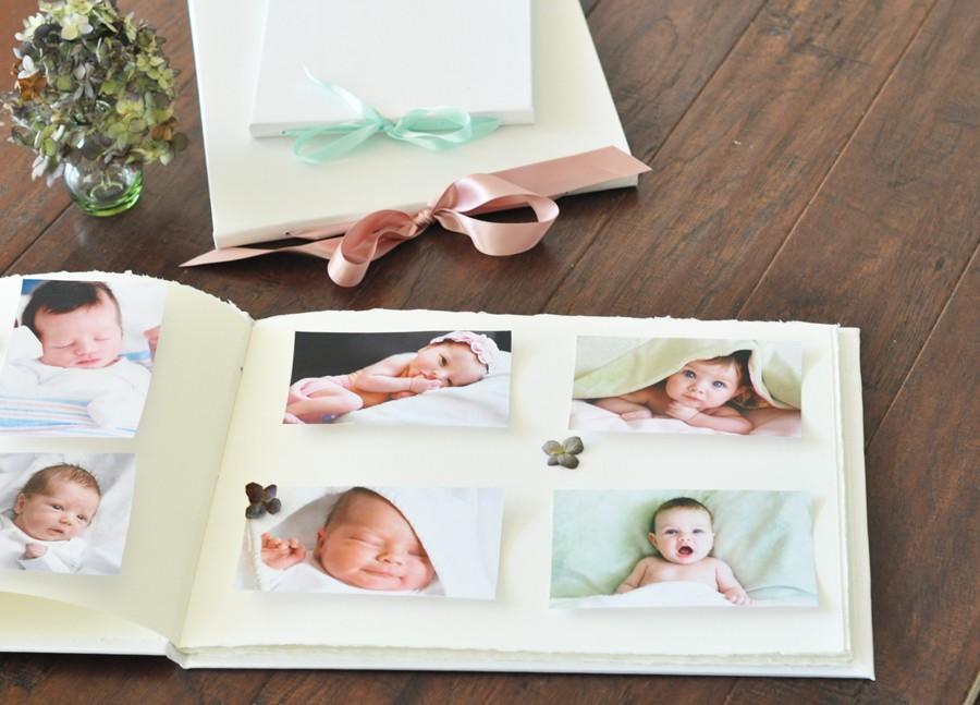 The Artisan Album - Handmade Baby Album, Sophisticated and Sweet ...