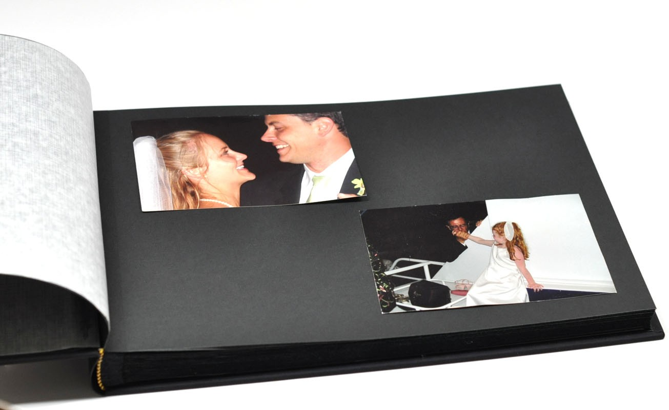 classic archival photo album a personalized photo book. Black Bedroom Furniture Sets. Home Design Ideas