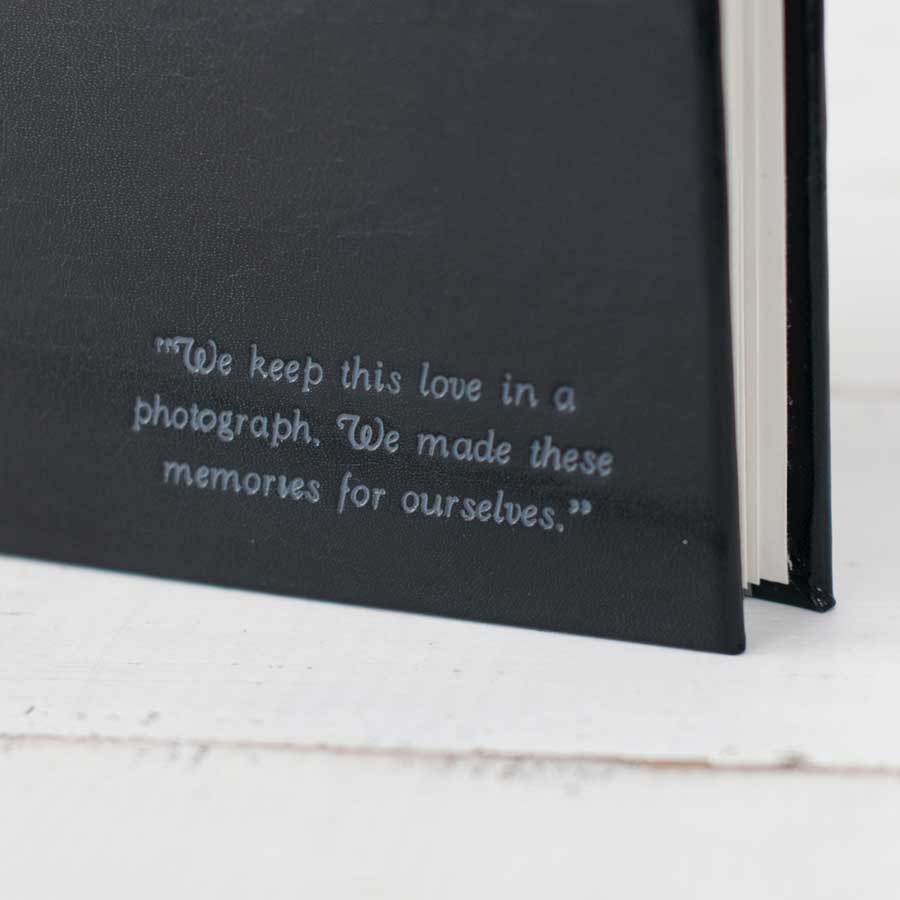 Classic Archival Photo Album A Personalized Photo Book By Blue Sky Papers
