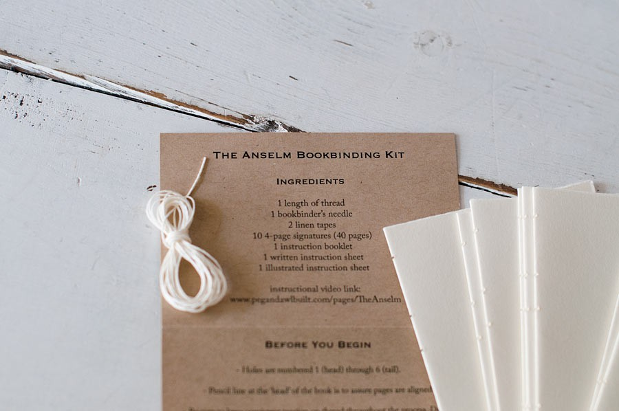 Book binding kit from blue sky papers book binding kit list of materials and resource information book binding kit diy solutioingenieria Choice Image