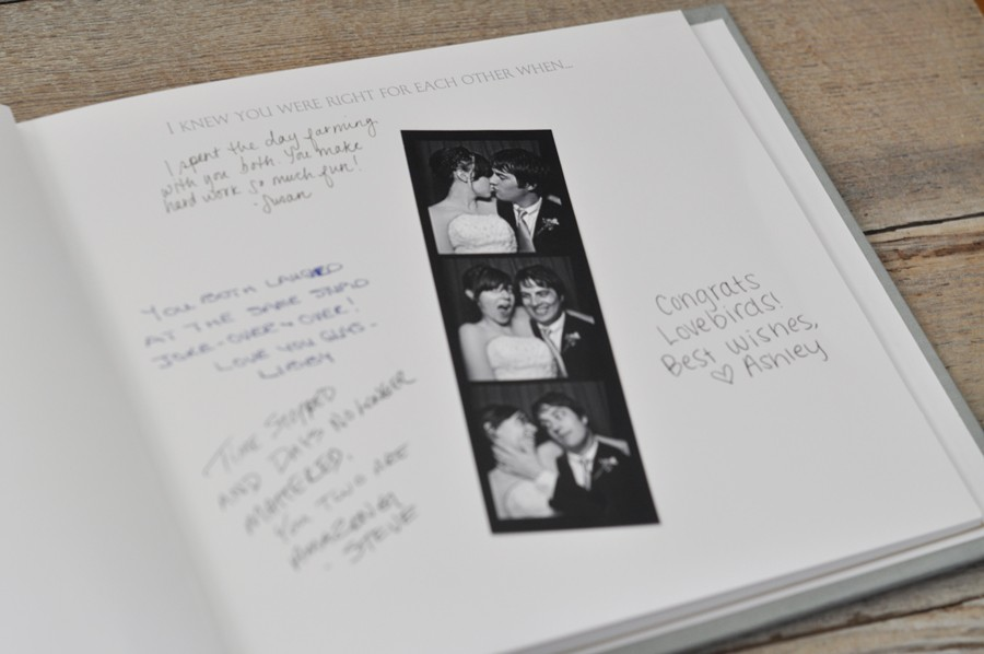 bridal shower keepsake book