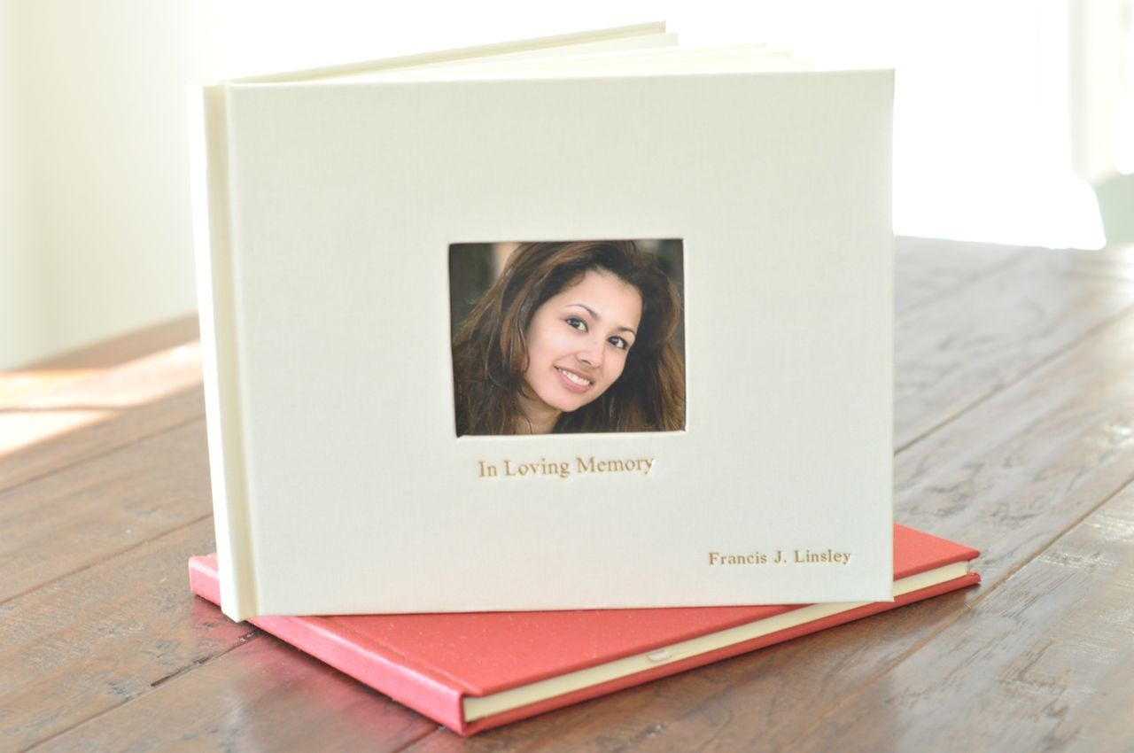 Life Celebration Memorial Book, a meaningful keepsake - by Blue Sky ...