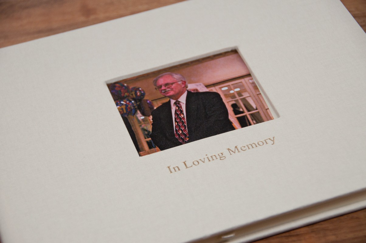 Life Celebration Memorial Book A Meaningful Keepsake By