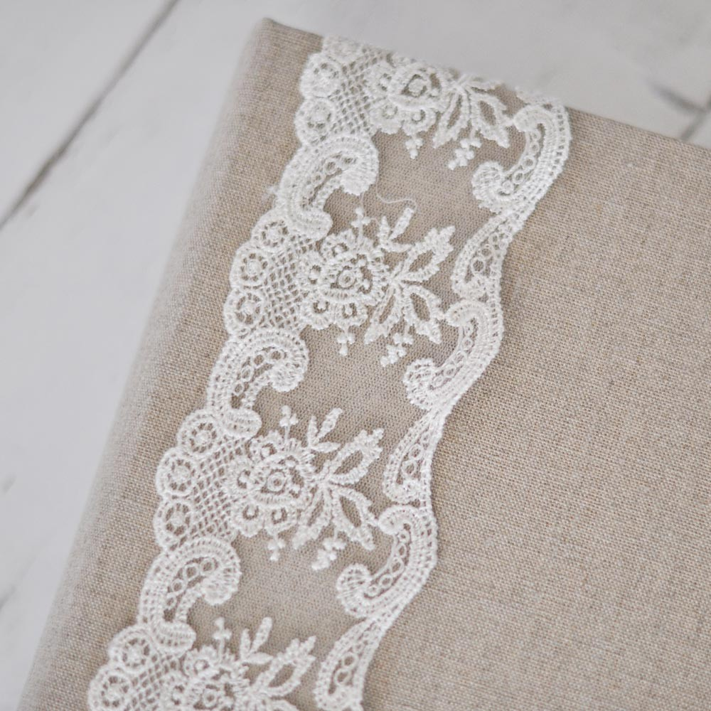 French Lace Custom Book Blue Sky Papers