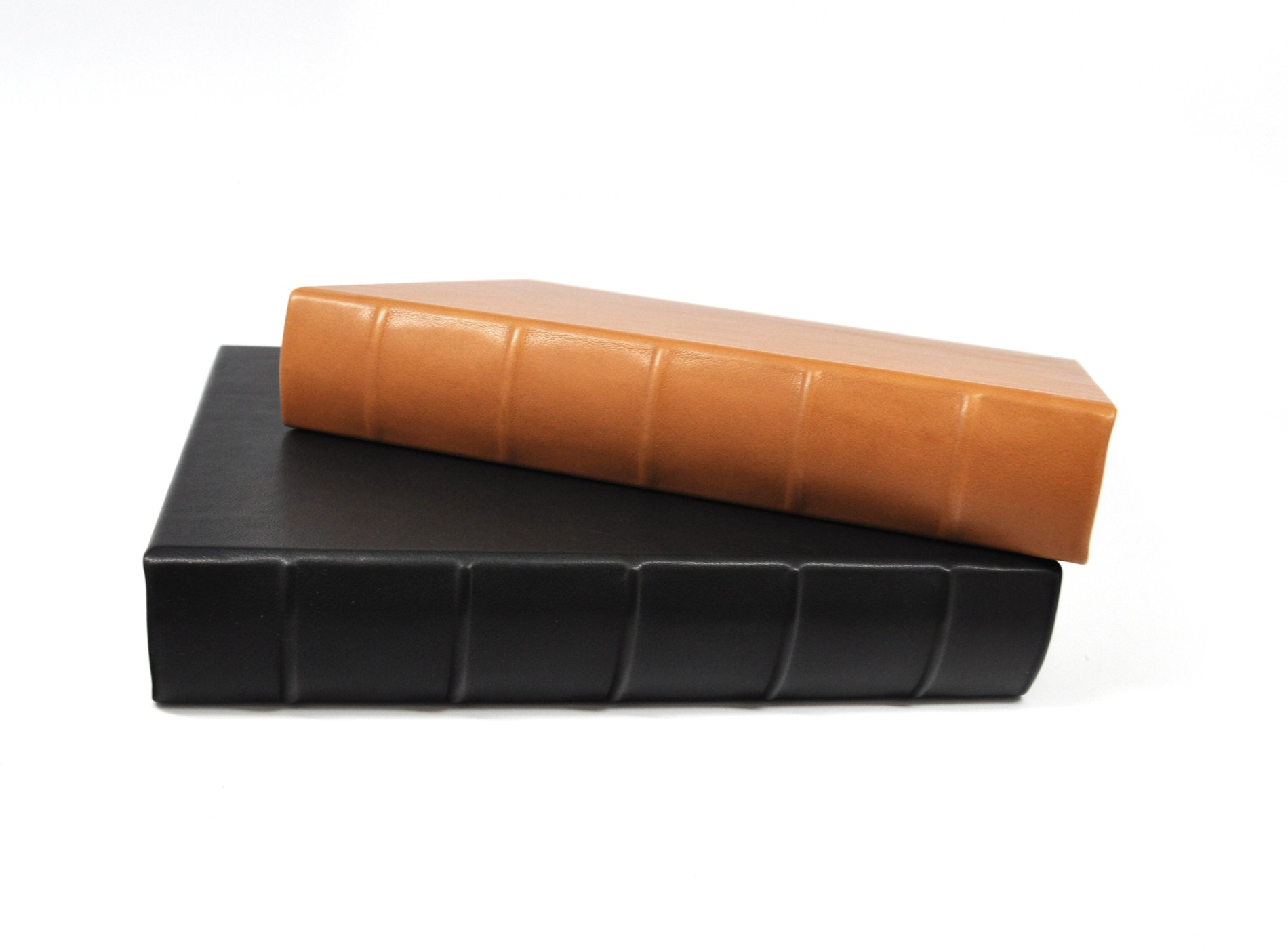 large leather guest book from blue sky papers