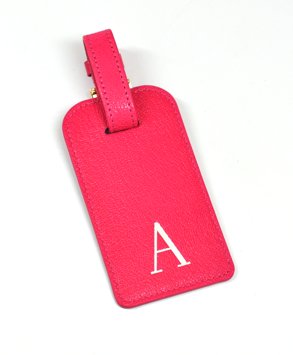 Leather Luggage Tags, personalized for the jet-setter - by Blue Sky ...