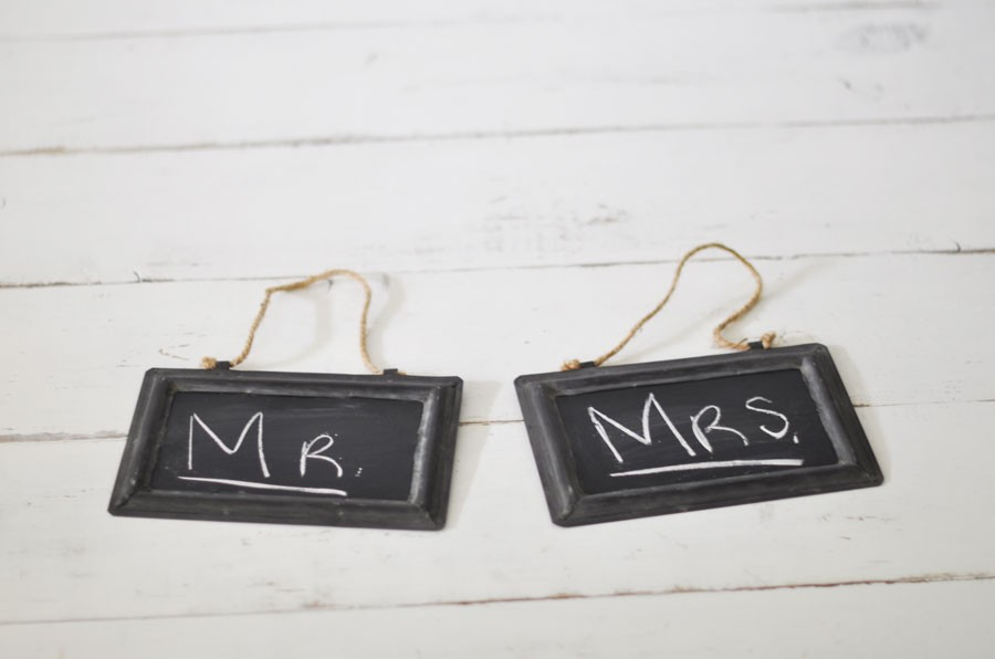 Zinc Hanging Framed Chalkboards, a rustic-inspired statement - by ...