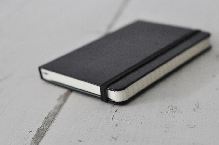 Black Ruled Moleskine Notebook For The Iconic Writer By