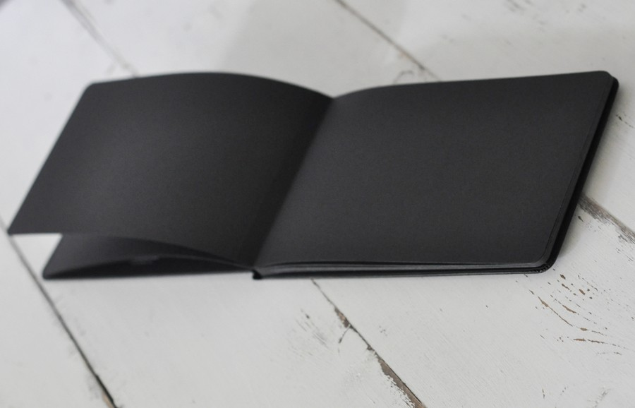 Moleskine Black Page Album For The Iconic Creator By Blue