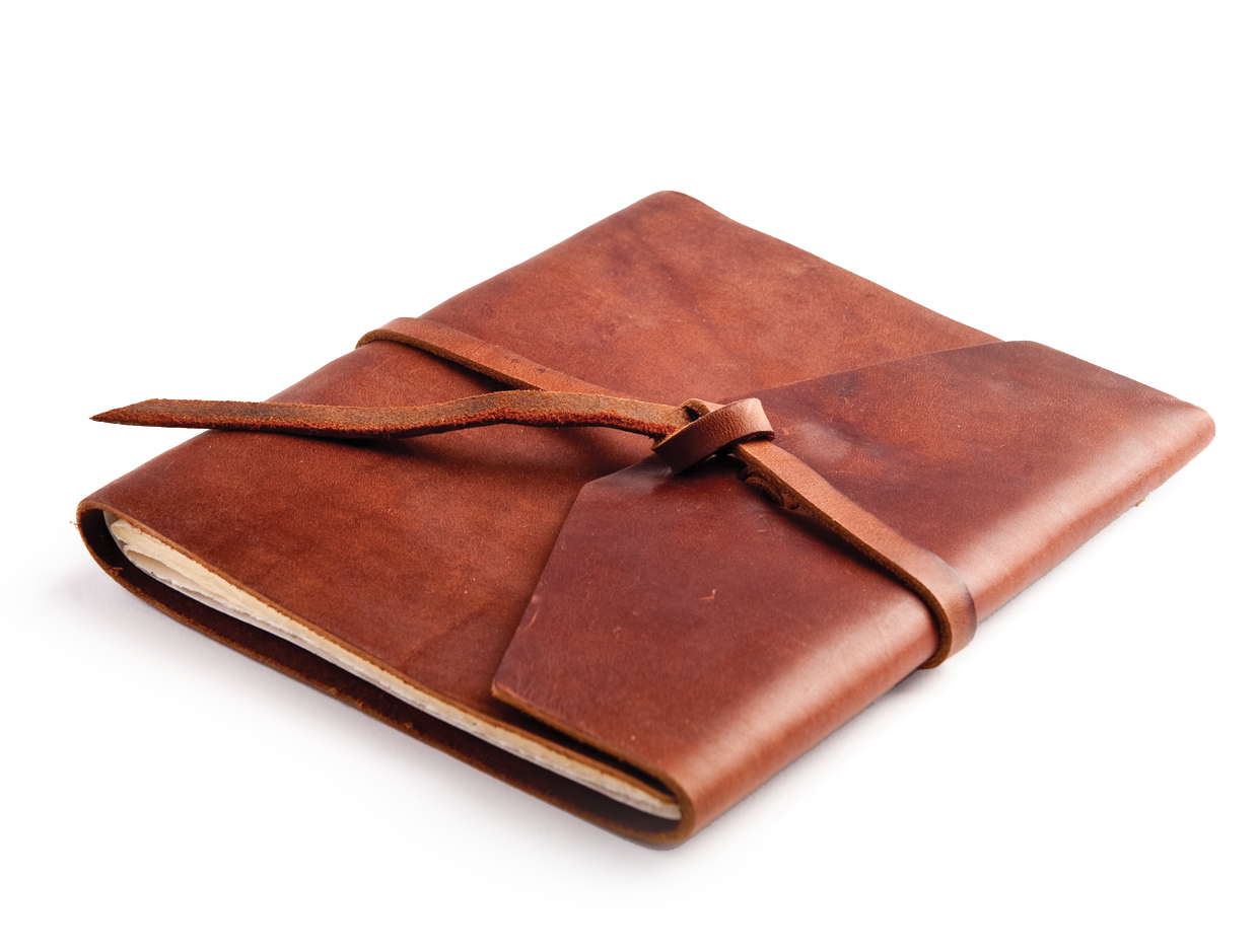 the observer a rustic leather journal by blue sky papers