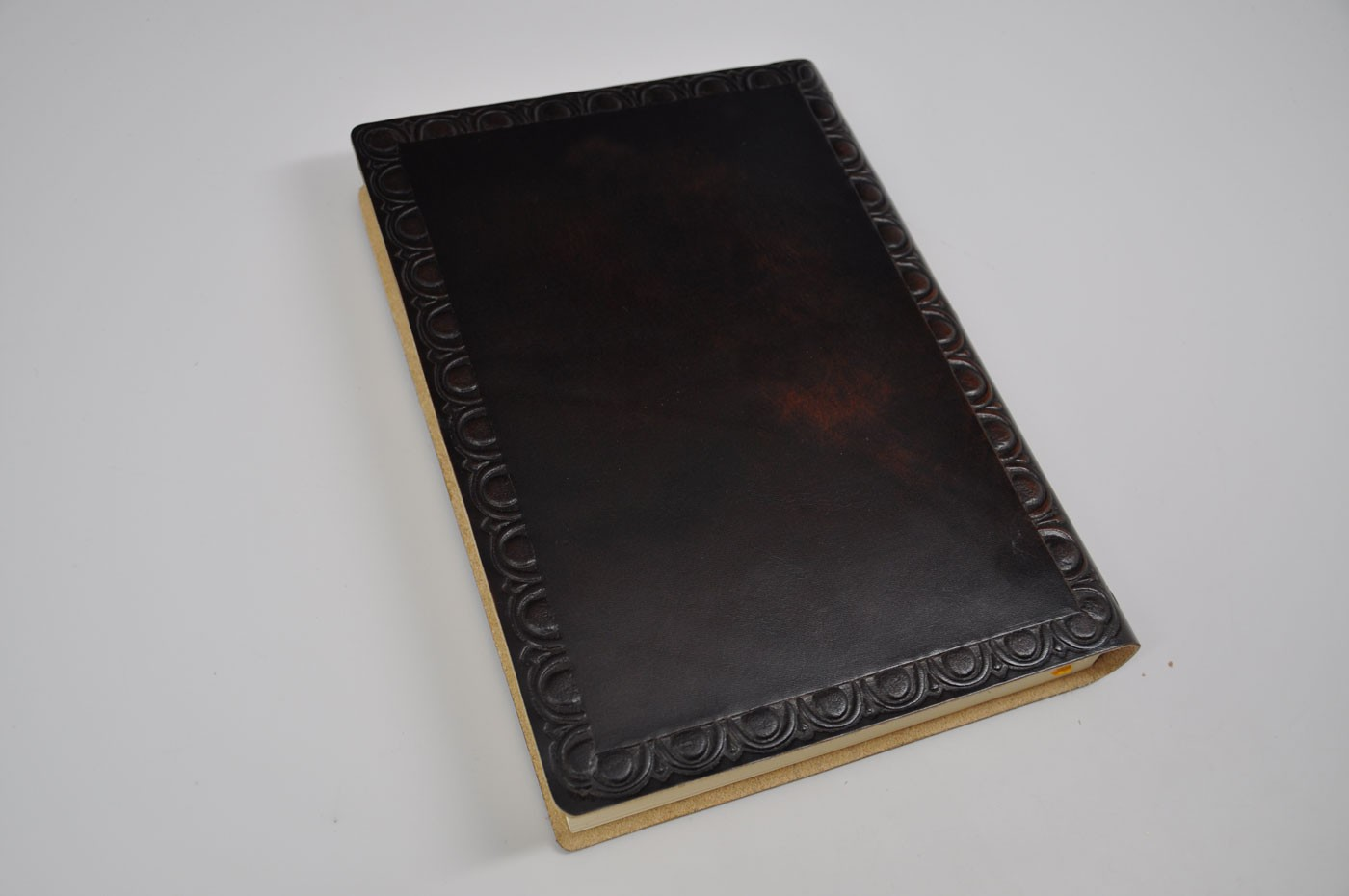 Old Leather Journal With Key Additional Images  click image