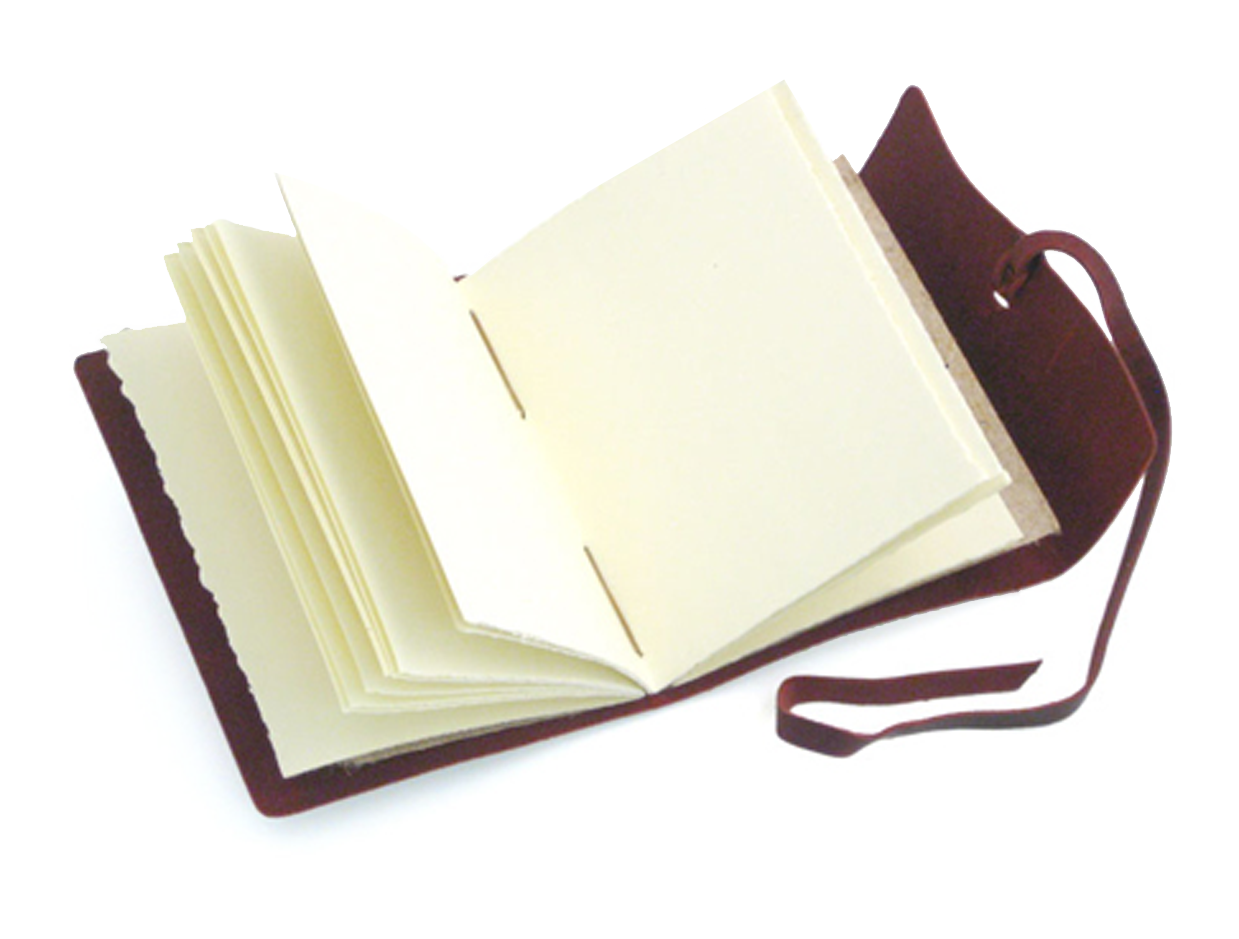 Leather Blank Notebook Diary Journal Vintage Handmade Writing 80 Sheets, Coffee