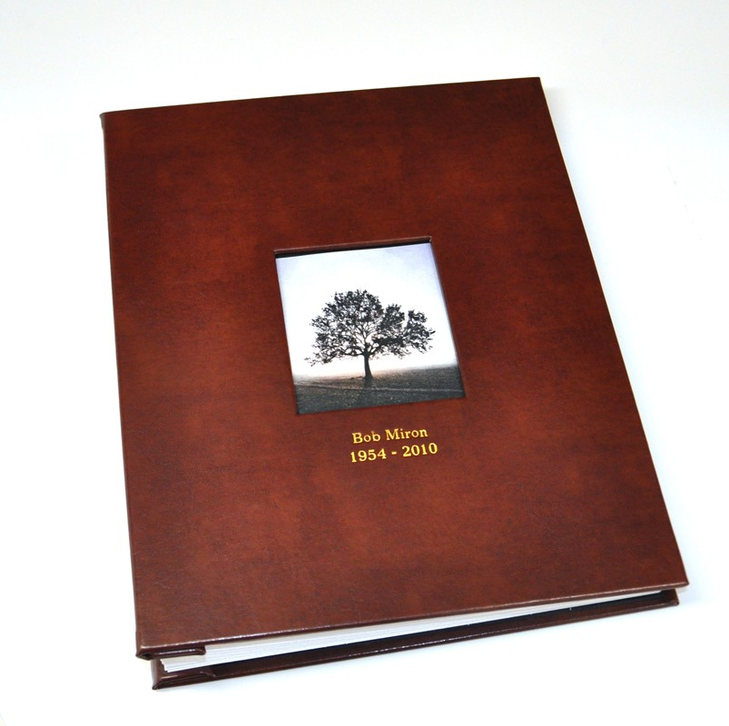 Memorial Guest Book For Memorial Funeral Services
