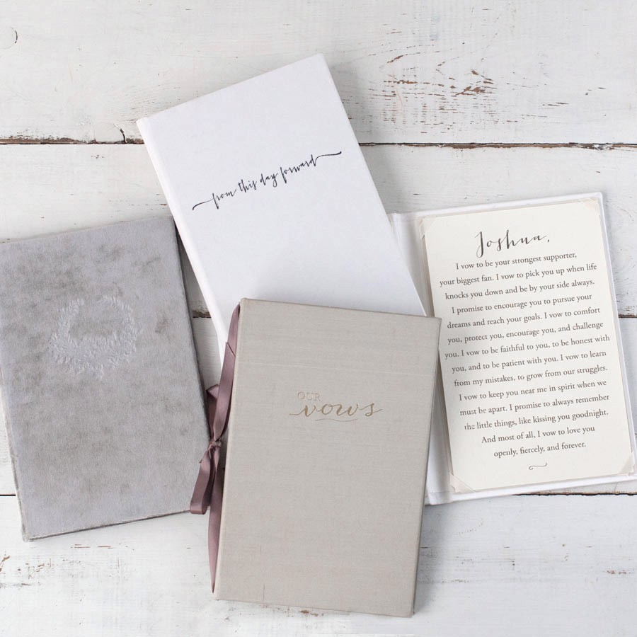 Wedding Vow Keepsake Book By Blue Sky Papers
