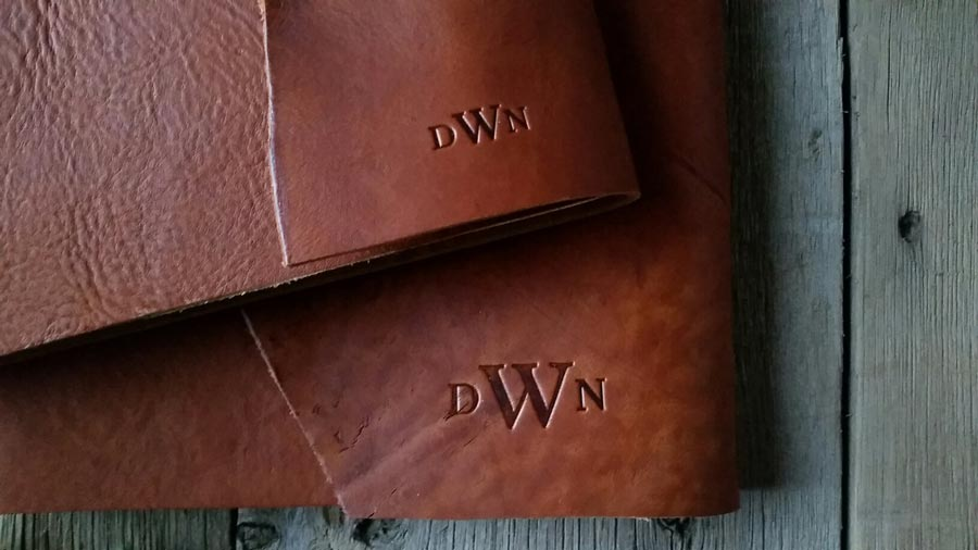 Personalized Leather Book by Blue Sky Papers