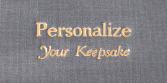 Personalization by Blue Sky Papers