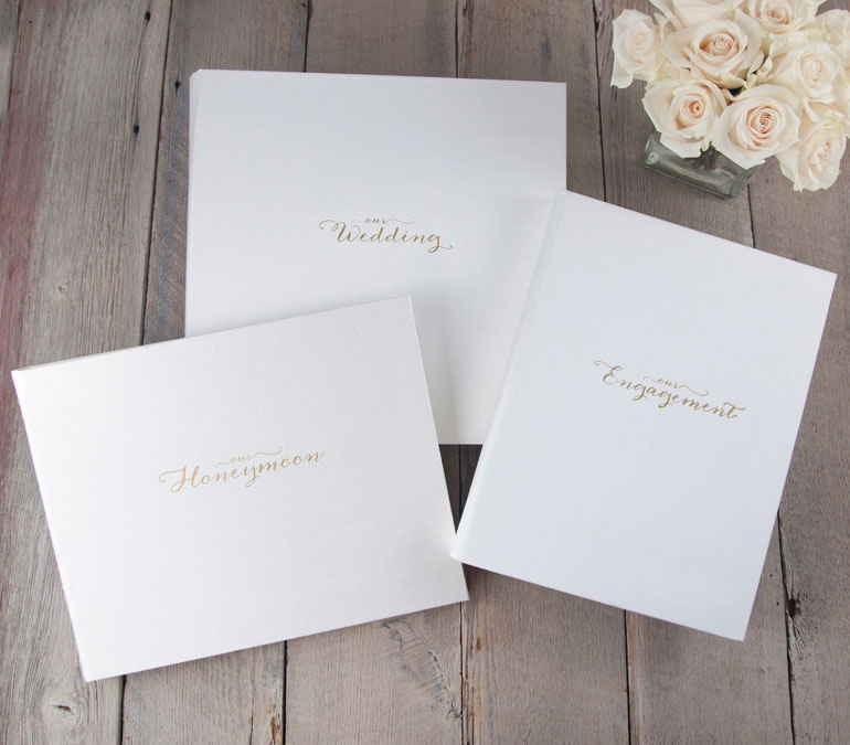 Wedding Photo Albums by Blue Sky Papers