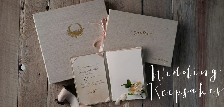Wedding Keepsakes by Blue Sky Papers